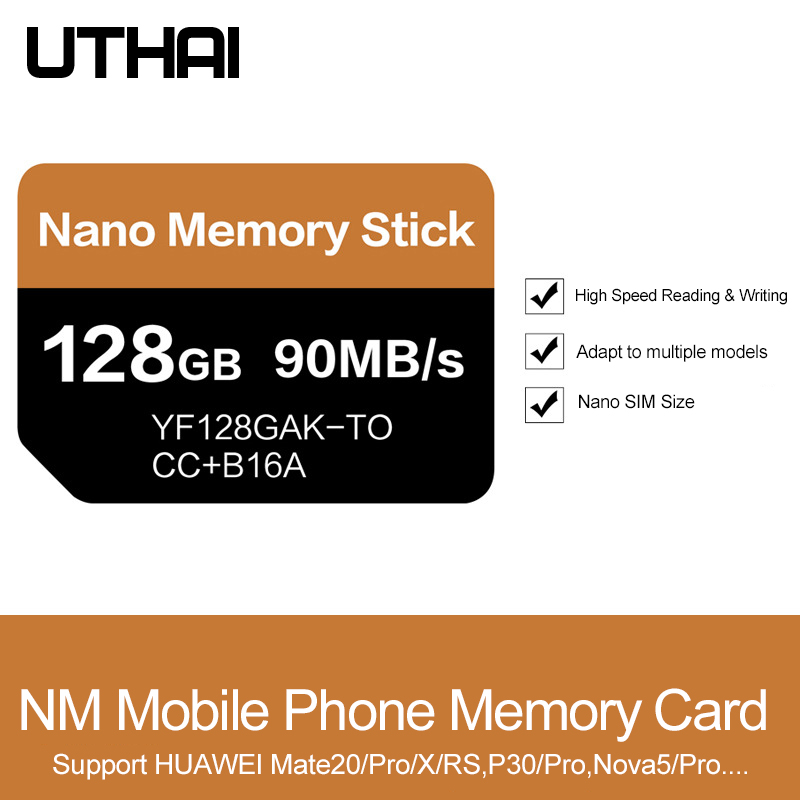Image 2 - UTHAI J39 NM Card Read 90MB/s 128GB Nano Memory Card Apply For 