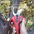 32 мм светодиодный секатор 16 8 в батарея электрические ножницы Li-Ion ножницы садовые секаторы