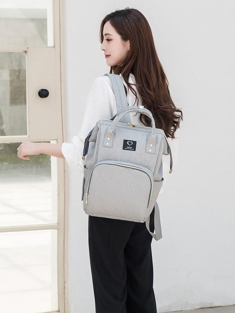 Backpack Diaper-Bags Large-Capacity Baby Family Waterproof Parenting for Moms Kids