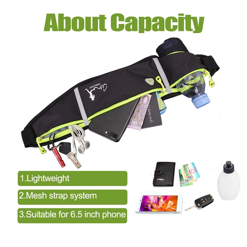running - Professional Outdoor Running Bag Phone anti-theft Pack Running Belt waist Bags Waterproof Belt Men Women Gym With Water Bottle