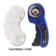 Artesanato de couro 45mm cortador rotativo ferramenta de corte de couro cortador de tecido lâmina circular diy retalhos costura estofando ajuste olfa corte