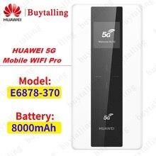 Huawei社5 3g携帯無線lanプロE6878 370 5グラムnsa/sa n41/n77/n78/n79 4グラムB1/3/5/7/8/20/B28/B32/B34/B38/39/40/41/42/43 8000 2600mahのパワーバンク