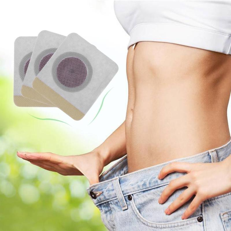 New 10/20/30/Box 2020 Hot Sale Weight Lose Paste Navel Slim Patch Health Slimming Patch Slimming Diet Products Detox Adhesive