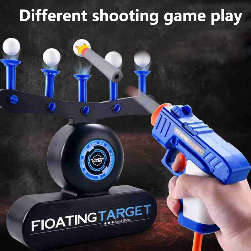 Electric Suspension Ball Dart Target Shooting Target Floating Ball High Precision Scoring Auto Reset Electric Target For Gun Toy