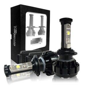 Image 5 - CNSUNNYLIGHT Super Helle Auto LED Scheinwerfer Kit H4 H13 9007 Hallo/Lo H7 H11 9005 9006 w/ XHP50 chips Ersatz Lampen 6000K Lichter