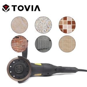 Image 5 - TOVIA 115mm/125mm Diamond Circular Saw Blades Cutting Granite Stone Porcelain Ceramic Tile Saw Disc Thin Saw Blades