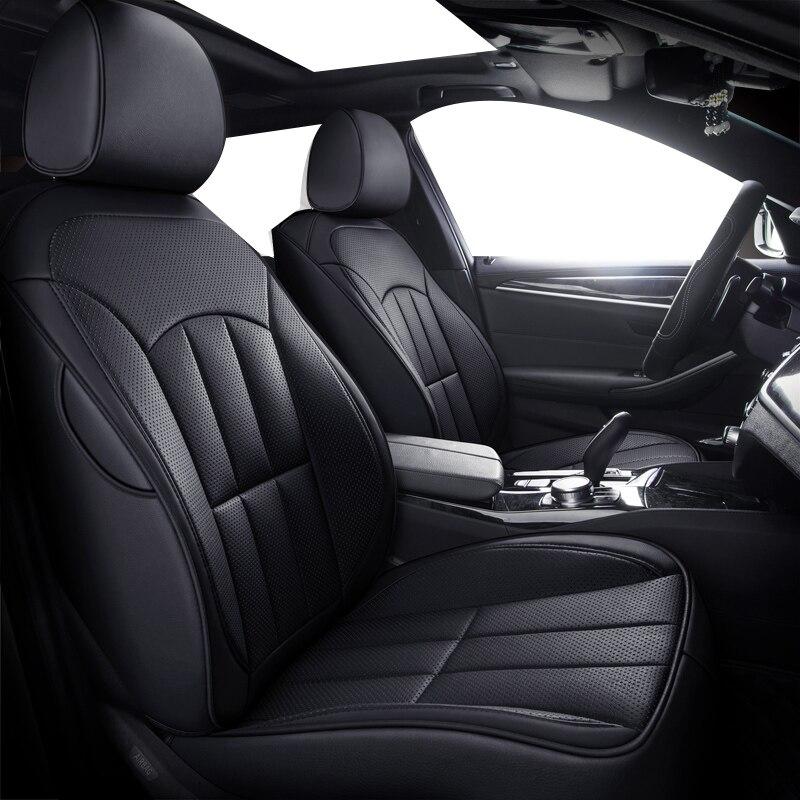 Housses de siège de voiture en cuir spécial de haute qualité pour MG GT MG5 MG6 MG7 mg3 mgtf accessoires de voiture housses auto 3D noir