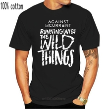 Atc The Pop Rock Against The Current Black White Tee Size S 3Xl Men'S T Shirts