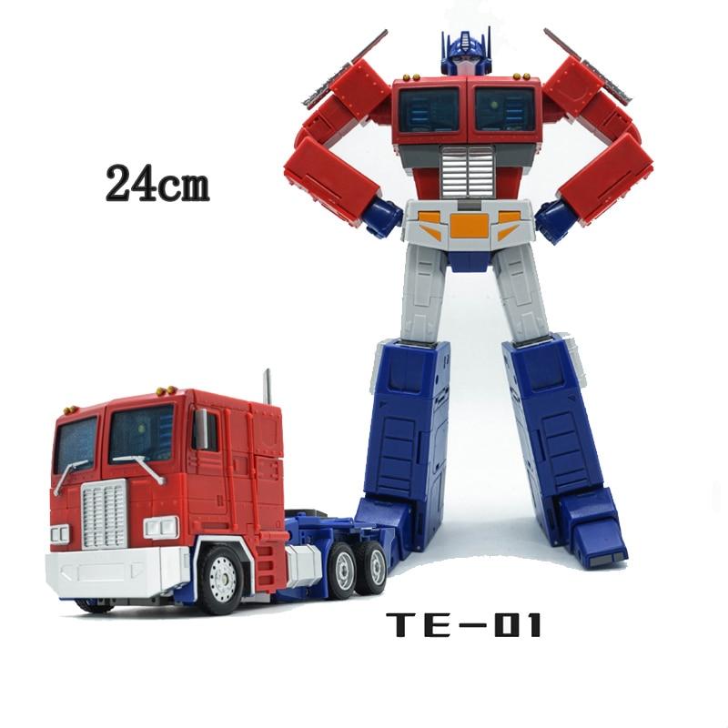G1 TE transformación OP Commander TE 01 TE01 TE 01E Versión 3,0 TF elemento acción figura colección juguetes deformación modelo niños