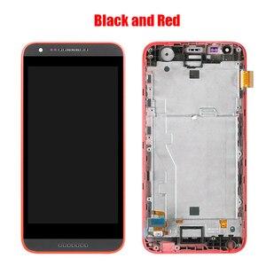 Image 5 - Dành Cho HTC Desire 620 620U 620T 620G Màn Hình LCD Màn Hình Với Ốp Mặt Trước Mặt Kính Cảm Ứng, d620h Màn Hình LCD Hiển Thị Ban Đầu Đen Trắng