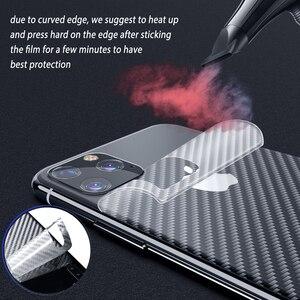 Image 5 - Gehard Glas voor iPhone 11 Pro Max Beschermende Glazen Camera Lens Glas Carbon Sticker Film voor iPhone 11 Pro max Film