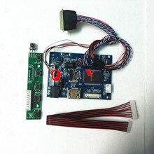 Комплект для B116XW02 V1/B116XW02 V0 1366x768 панель контроллера ЖК-дисплей драйвера светодиодный HDMI-совместимый 2AV пульт дистанционного управления VGA AV