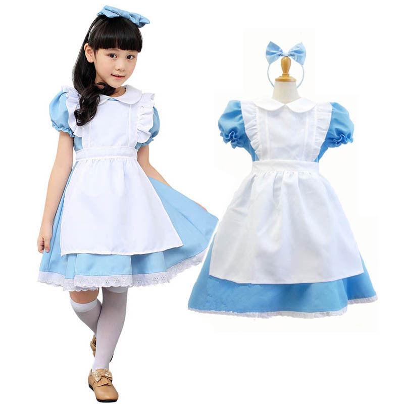 Ladies Alice in Wonderland Storybook Fairy Tale Fancy Dress Costume Book Week