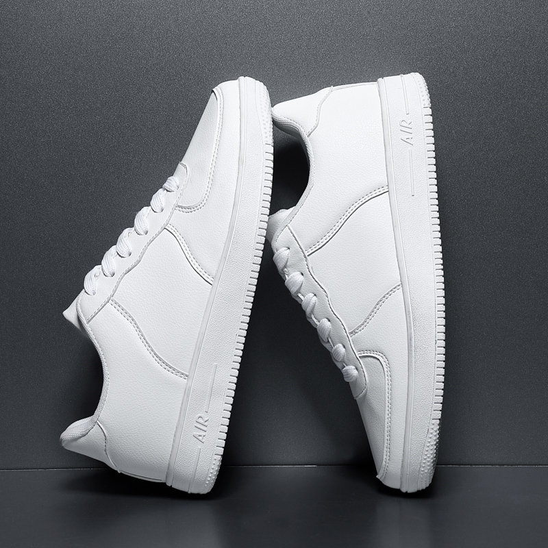 2020 Men's Casual Shoes Yellow Lac-up Non-Slip Leather Breathable Adult Sneakers Male Tenis Men Flat Shoe Smasculino Chaussure