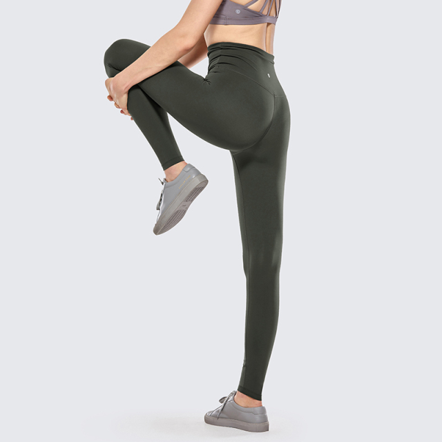 Naked Feeling Mesh High Waist Leggings with Straw string