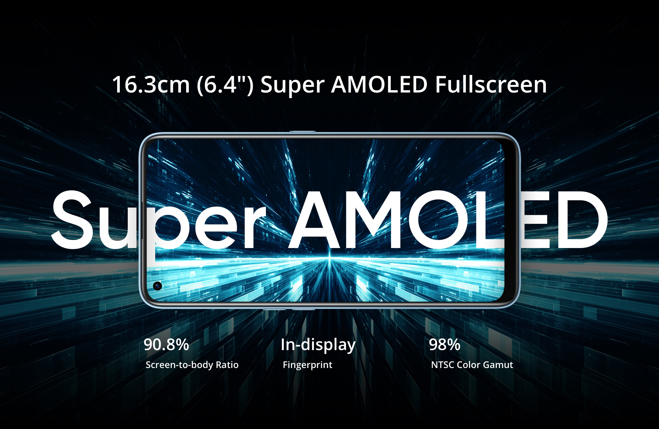 realme 7 pro amoled screen