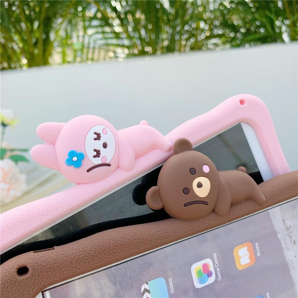 Silicon iPad Tablet Rabbit Cartoon Soft Capa-Case 11inch Para-Cover Cute Pro for Funda
