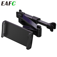 Carro traseiro travesseiro titular do telefone tablet suporte de carro assento encosto de cabeça traseira suporte de montagem para iphone x8 ipad mini tablet 4-11 polegada