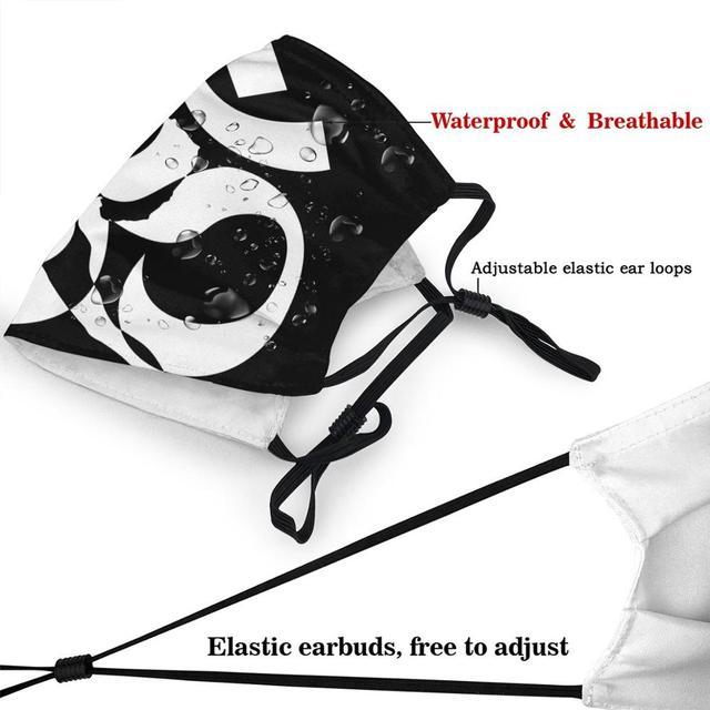 OCCUPY White Grey  DIY mondmasker  Latest design masque facial lavable   New Arrival cloth face masks    High Quality face mask 3