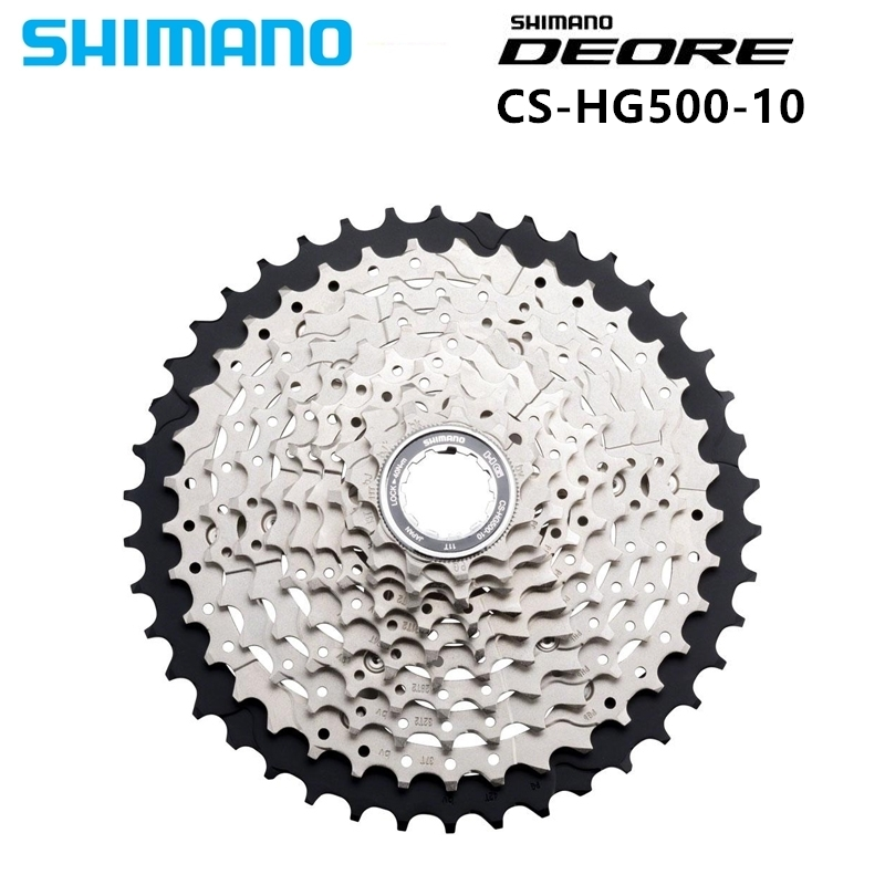 Shimano Deore M6000 Hg500 -10 10s 10 Mtb Speed Mtb From The Free -wheel Bicycle Cassette Deore <font><b>11</b></font> -42 T image