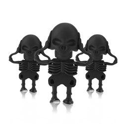 Hot Sale Usb Flash Drive 128gb Halloween skull Pen Drive 2.0 memory usb stick 8gb 16gb 32gb Wholesale drive flash 64 gb U disk