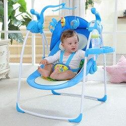 Baby Elektrische Schaukel Stuhl Baby Wiege Liege Neugeborenen Kind Komfort Stuhl Shaker Wiege Bett Baby Schlafen Artefakt Baby Schaukel