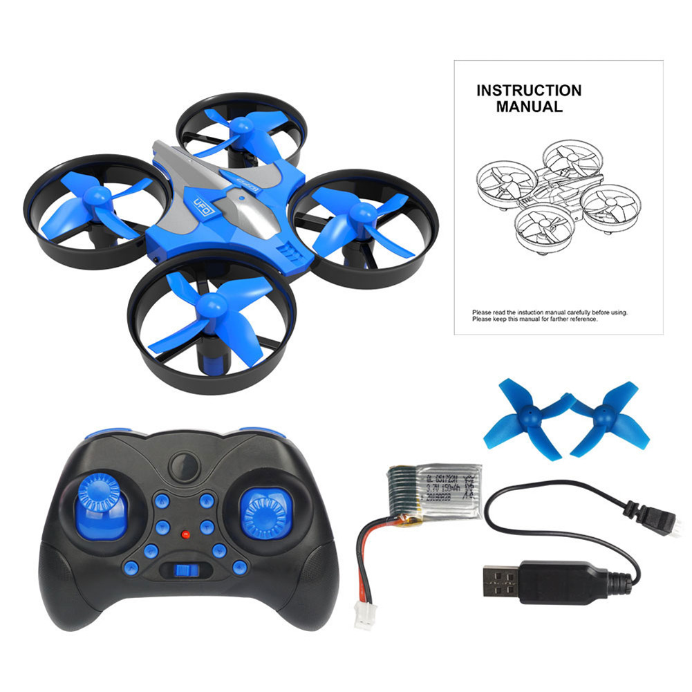 The New High Quality 2.4G Mini Four-axis Aircraft One-button Return To Headless Mode Small Remote Control Aircraft For Kids Gift