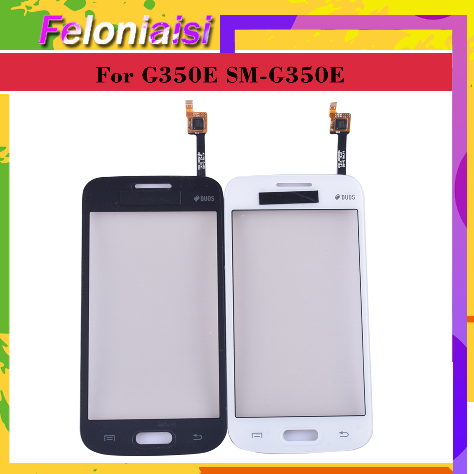 10pcs/lot For <font><b>Samsung</b></font> Galaxy DUOS star advance <font><b>G350E</b></font> SM-<font><b>G350E</b></font> Touch <font><b>Screen</b></font> Digitizer Sensor Outer Glass Lens Panel Replacement image