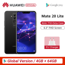Global Version Huawei Mate 20 Lite 4G 64G 6.3 inch Mobile Phone