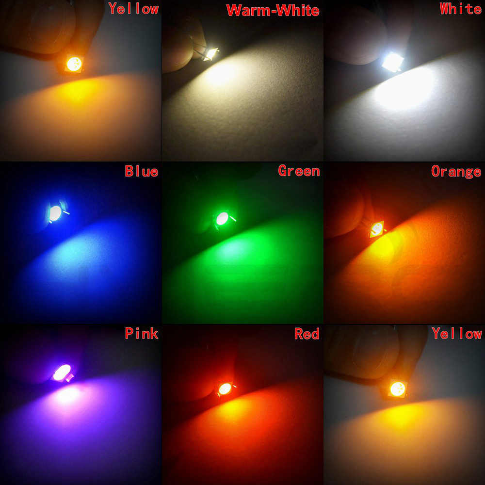 10x RGB SMD 5050 LEDs 3 Chip PLCC 6 FullColor Red-Green-Blue HighPower SMDs//5050