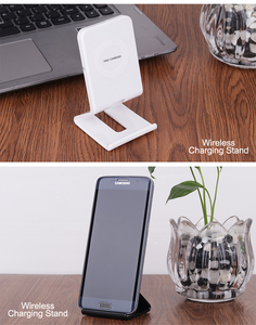 Image 5 - 10W Stand Fast Wireless Charger For Samsung Galaxy S10 S9/S9+ S8 Note 9 USB Qi Charging Pad for iPhone 11 Pro XS Max XR X 8 Plus