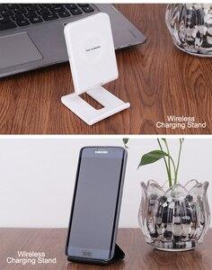 Image 5 - Cargador inalámbrico rápido con soporte de 10W para Samsung Galaxy S10 S9/S9 + S8 Note 9, almohadilla de carga USB Qi para iPhone 11 Pro XS Max XR X 8 Plus