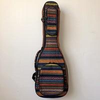 28 30 Inches Guitalele Ukulele Guitar Case Soft Bag Baritone Stripe Blue Backpack Ukelele Guitarra Accessories Gig Acoustic