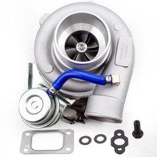 GT2871 GT25 GT28 T25 GT2860 SR20 CA18DET турбо Турбокомпрессор воды AR. 64 настройки
