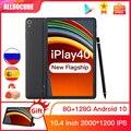 Ветвью ALLDOCUBE и iPlay40 10,4 дюймов, 2K FHD 2000*1200 8 Гб Оперативная память 128 Гб Встроенная память Android 10 T618 Процессор LTE телефонного звонка 5G Wi-Fi iPlay 40