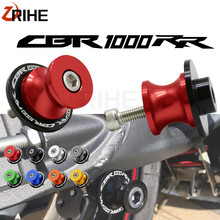 цена на 8mm Motorcycle Swingarm Spools Slider For Honda CBR 1000RR CBR1000RR CBR 1000 RR CBR1000 RR 2004-2011 2005 2006 2007 2008 2009
