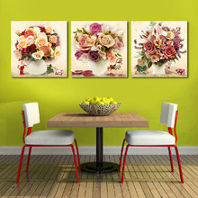 Classic Colorful Flower DIY Painting By Number Modern Wall Art Picture Paint On Canvas Unique Gift For Home Wall Decor(China)