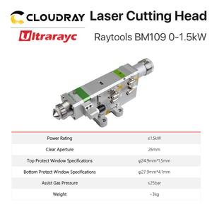 Image 4 - Ultrarayc BM109 Raytools Fiber Cutting Head 0 1.5kW Auto Focusing for Carbon Steel Cutting