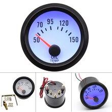 Temp-Gauge Sensor 52mm-Oil Celsius-Degree with for Car Motorcycle-52mm-Gauge 12voil 2inch