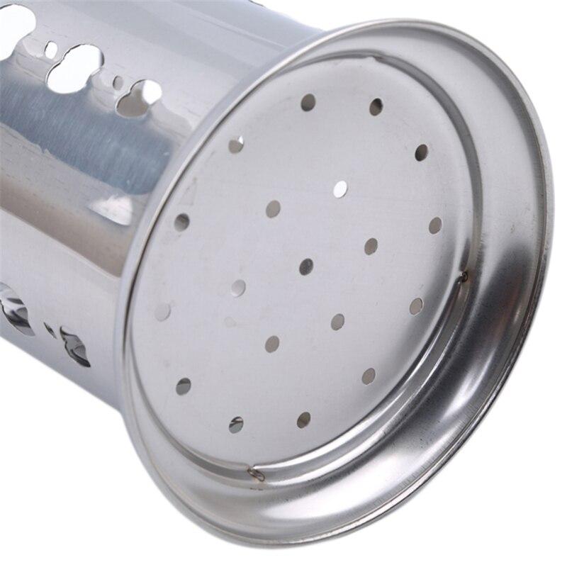 Популярная Подвеска для столовых приборов из нержавеющей стали держатель для слива Ложка Вилка палочки для еды корзина для хранения стелла...
