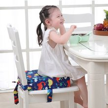 Kids Dining Booster Pad Adjustable Baby Washable Booster Seat Portable Kids Increased Chair Pad Removable Chair Cushion Booster