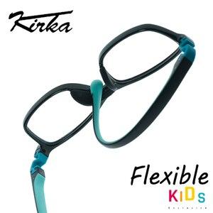 Image 3 - Kids Glasses TR90 Flexible Eyeglass Frame Children Black Kids Optical Glasses Boys  Eyewear Sport Eyeglasses Children Glasses