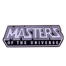 He Man-Pin maestro del universo, insignia de armadura de batalla, broche