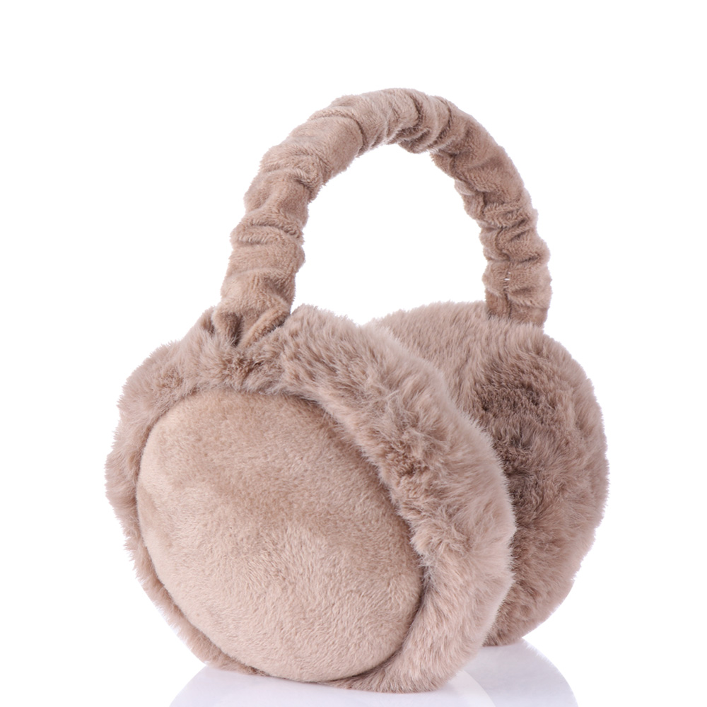 Fashion Unisex Adjustable Warm Faux Fur Earmuff  Headband Earlap Foldable Winter Ear Protector Ear Warmer Full Surround Earmuffs