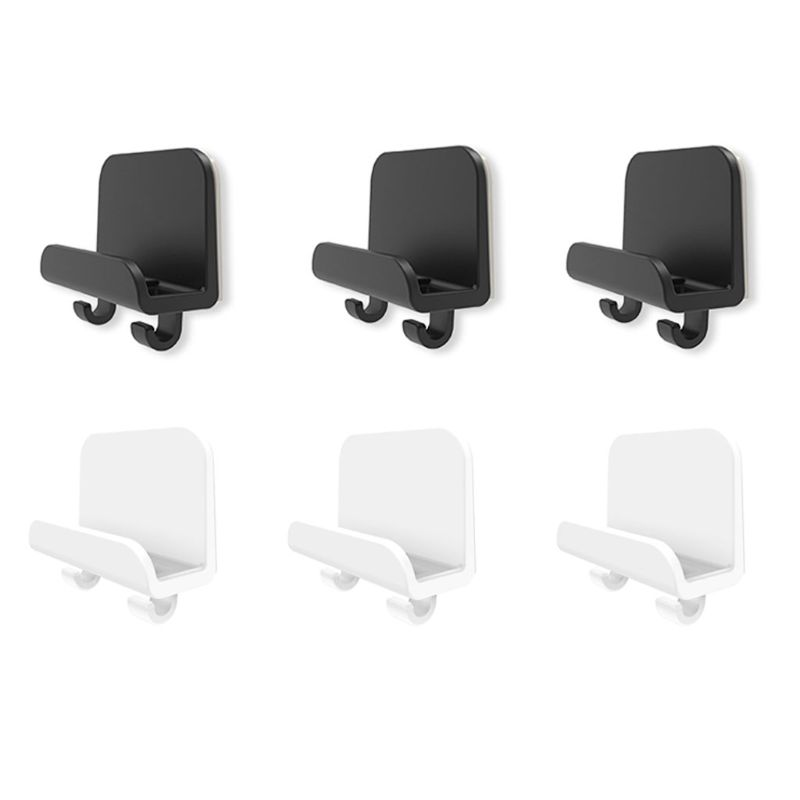 3x Adhesive Phone Tablet Holder Wall Mount Stand Hook Cradle For IPad Cellphone