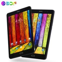 8-дюймовый планшетный 3G Телефонный звонок 4 Гб + 64 ГБ Android 7,0 Octa Core Wi-Fi Bluetooth MTK 6753 Dual SIM Поддержка планшетный ПК + крышка