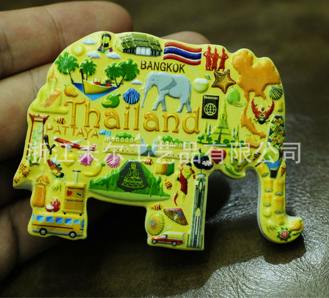 3D Resin Refrigerator Stickers World Tourism USA European  London Paris Fridge Magnet Souvenir Magnetic Home Decor Gift Ideas 5