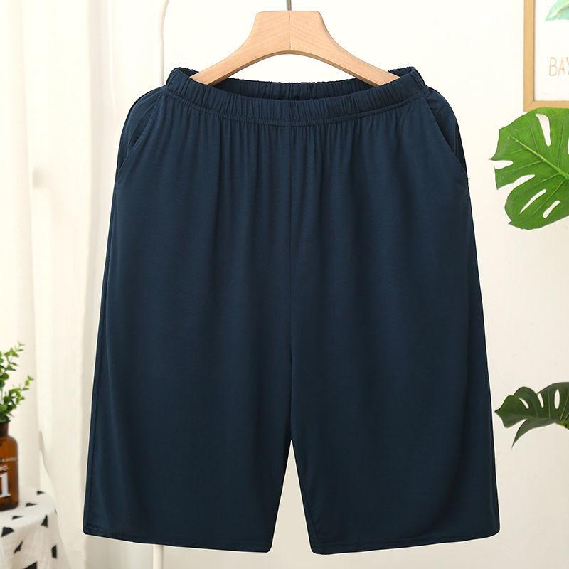 Homme Short Mens Jogging Casual Sweatpant Men Plus Size 6XL Breathable Home shorts Beach Solid Cotton Shorts Men Striped Panties 6