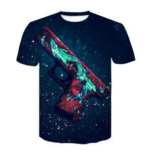 Футболка CS GO Game 2020 Hot Counter Strike Global offension CSGO Мужская футболка высшего качества брендовая одежда забавная 3D футболка