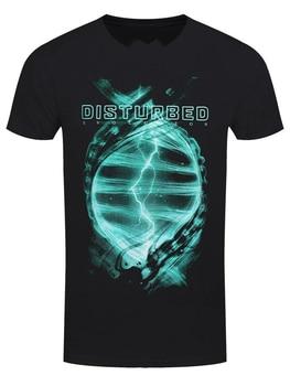 Disturbed T-Shirt Evolutionary Men';S Black Graphic Tee Shirt